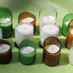 Recycled Glass Candles